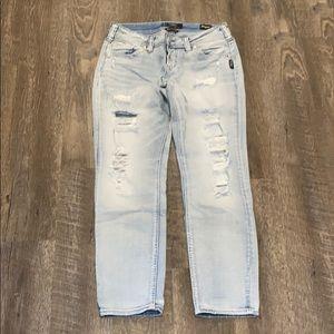 Silver Jeans Boyfriend Ankle Denim